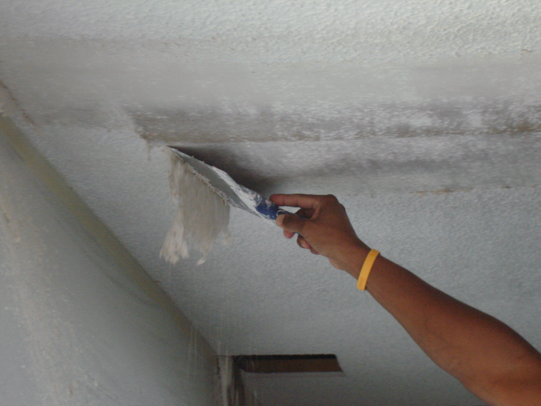 Popcorn Removal Example